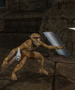 image de la creature chaman gobelin