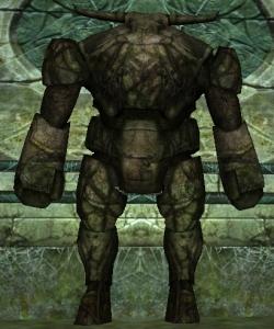 image de la creature golem de pierre