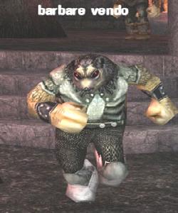 image de la creature barbare vendo