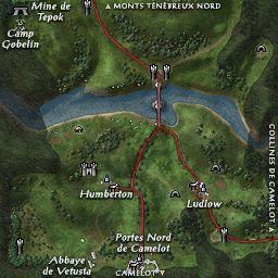 carte 002 de la zone Monts Ténébreux Sud