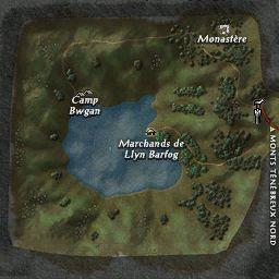 carte 007 de la zone Llyn Barfog