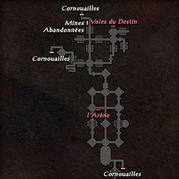 carte 023 de la zone Catacombes de Cardova
