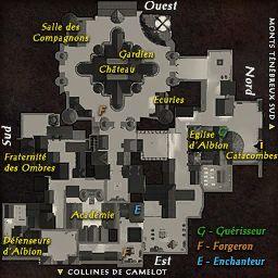 carte 026 de la zone Camelot