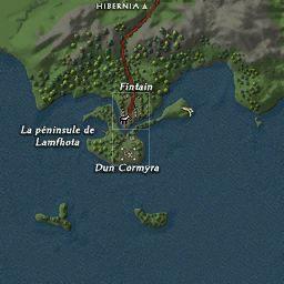 carte 029 de la zone Péninsule de Lamfhota