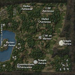 carte 044 de la zone Clairière d'Arbor