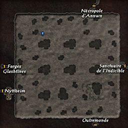 carte 058 de la zone Forêt Souterraine