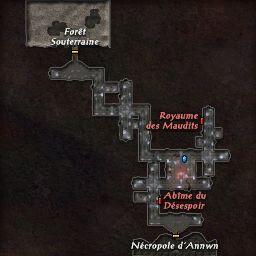 carte 068 de la zone Crypte Corrompue