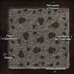 carte 096 de la zone Forêt Souterraine
