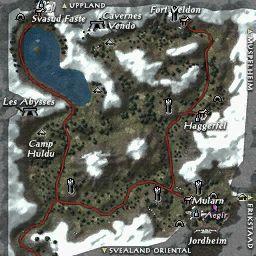 carte 100 de la zone Val Mularn