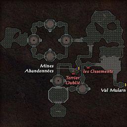 carte 126 de la zone Cavernes Vendo