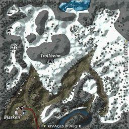 carte 152 de la zone Montagnes de Gripklosa