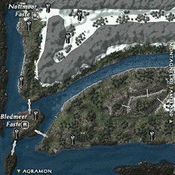 carte 167 de la zone Portes d'Odin