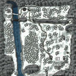 carte 170 de la zone Uppland