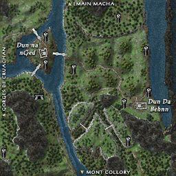 carte 172 de la zone Breifine