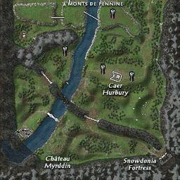 carte 175 de la zone Snowdonia