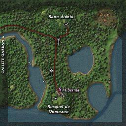 carte 181 de la zone Domnann