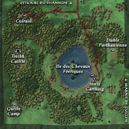 carte 204 de la zone Lough Gur