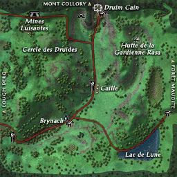 carte 206 de la zone Vallée de Bri Leith
