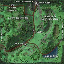 carte 206 de la zone Vallée de Bri Leith