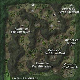 carte 216 de la zone Collines de Sheeroe