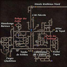 carte 227 de la zone Mines Abandonnées
