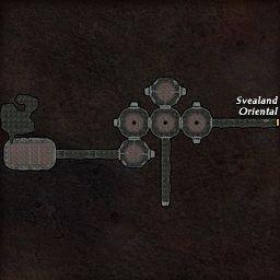 carte 283 de la zone Tombeau Oublié