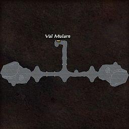 carte 287 de la zone Grotte Voilée