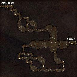 carte 327 de la zone Grottes de la Folie