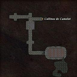 carte 421 de la zone Tombeaux Brisés
