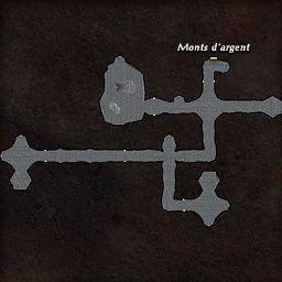 carte 445 de la zone Cavernes Obscures