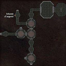 carte 448 de la zone Cavernes Obscures