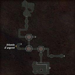 carte 449 de la zone Cavernes Obscures