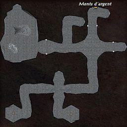 carte 465 de la zone Cavernes Obscures