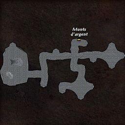 carte 468 de la zone Cavernes Obscures