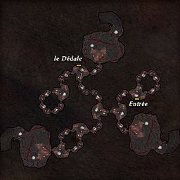 carte 491 de la zone Dédale de la Folie