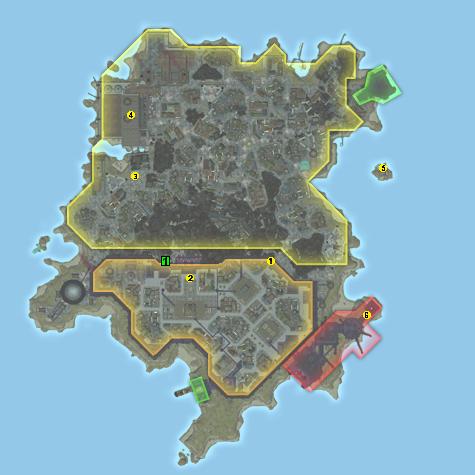 Carte de Mercy Island