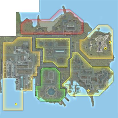 Carte de Port Oakes
