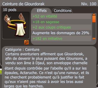 Ceinture de Glourdorak