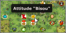Emotes : Bisou sur la carte