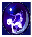 fée d'artifice bleue