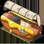 Foire du Trool stand hotdog