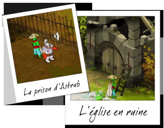 La prison et l'église d'Astrub