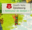 Titre Nettoyeur de Donjon