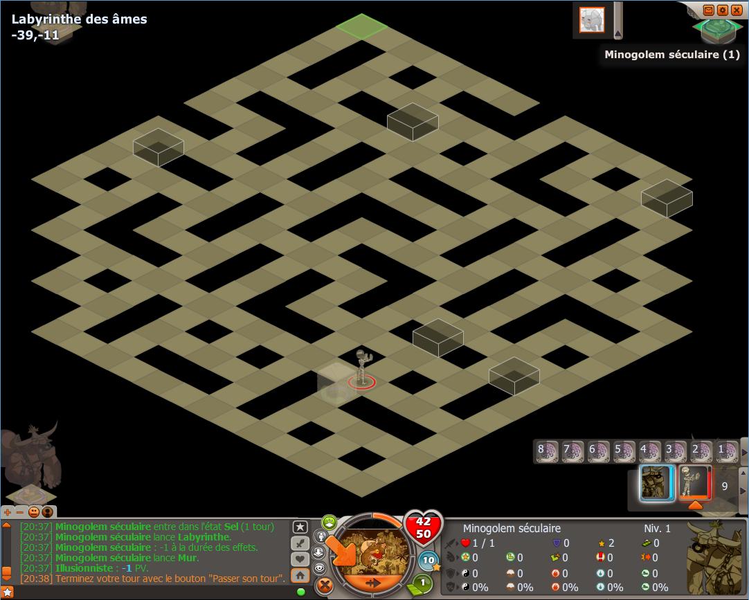 labyrinthe des ames