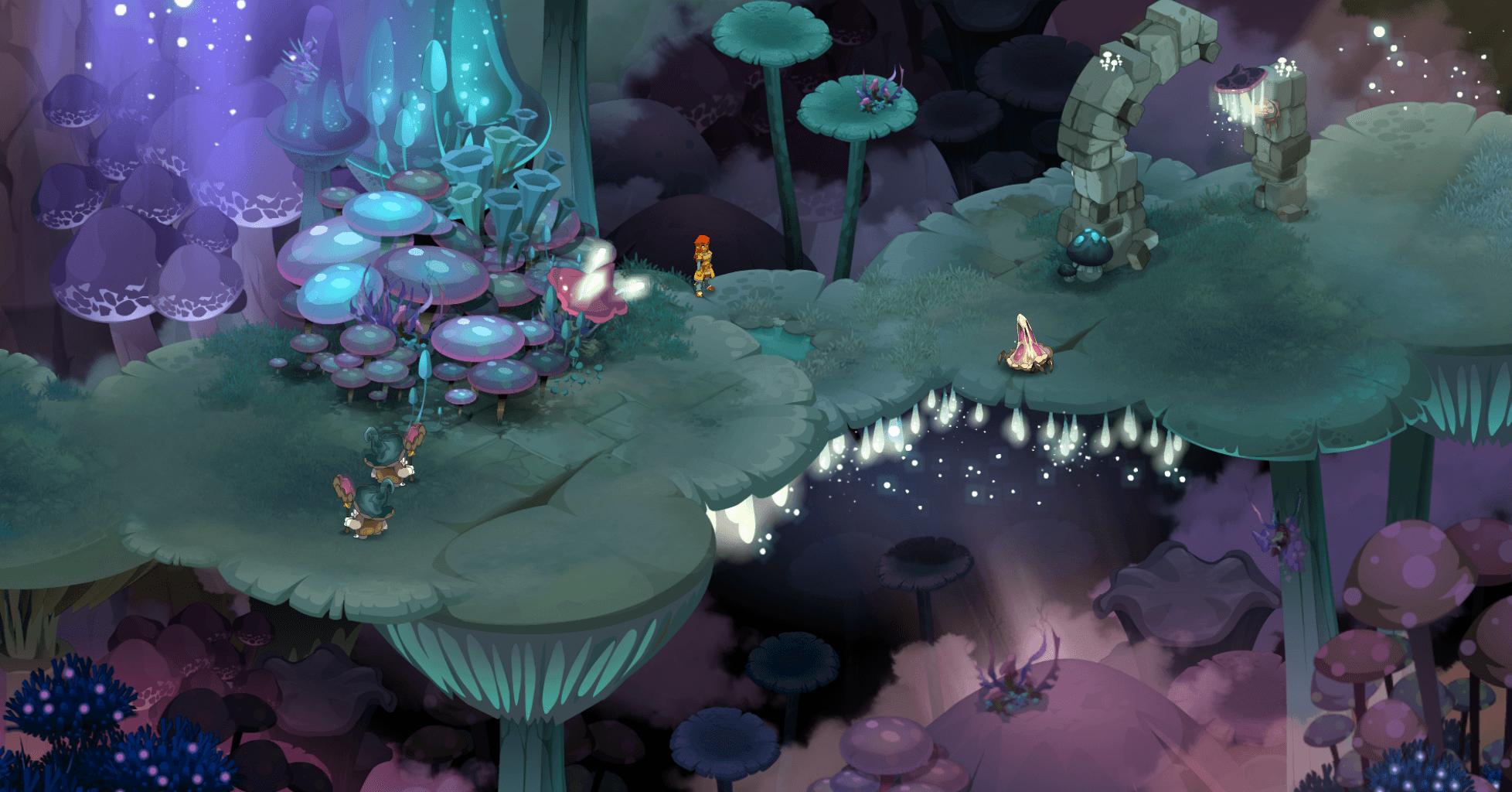 entrée de la caverne des fungus