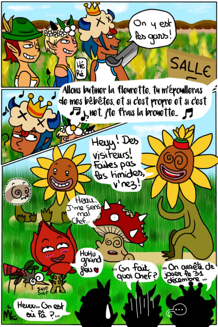 illustration des monstres des champs