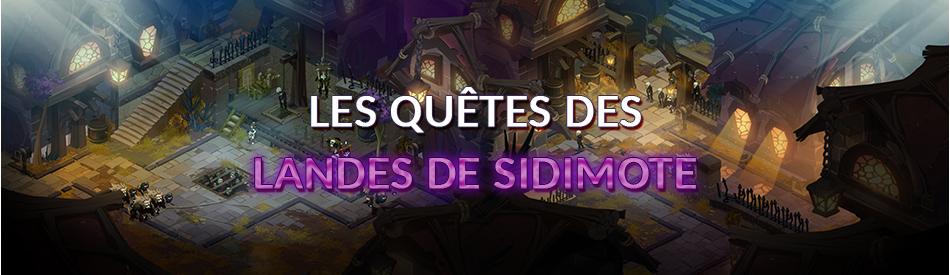 Dofus Quêtes Des Landes De Sidimote Dofus
