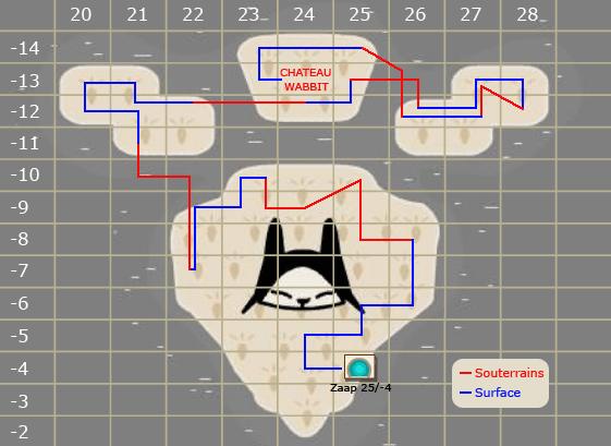 Route pour le château