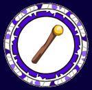 logo sculpteur de bâtons