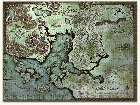 BG de GW Map